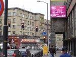Miasto, ekran LED