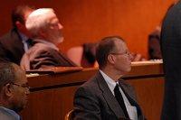 adwokat na sali sądowej