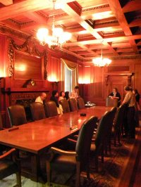 elegancka sala konferencyjna