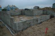 Fundament pod budowę domu jednorodzinnego