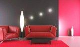 Niecodzienna aranżacja świetlna salonu z użyciem opraw ledowych z kolekcji CRISTAL